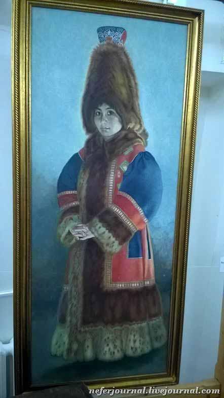 портрет богатой девушки