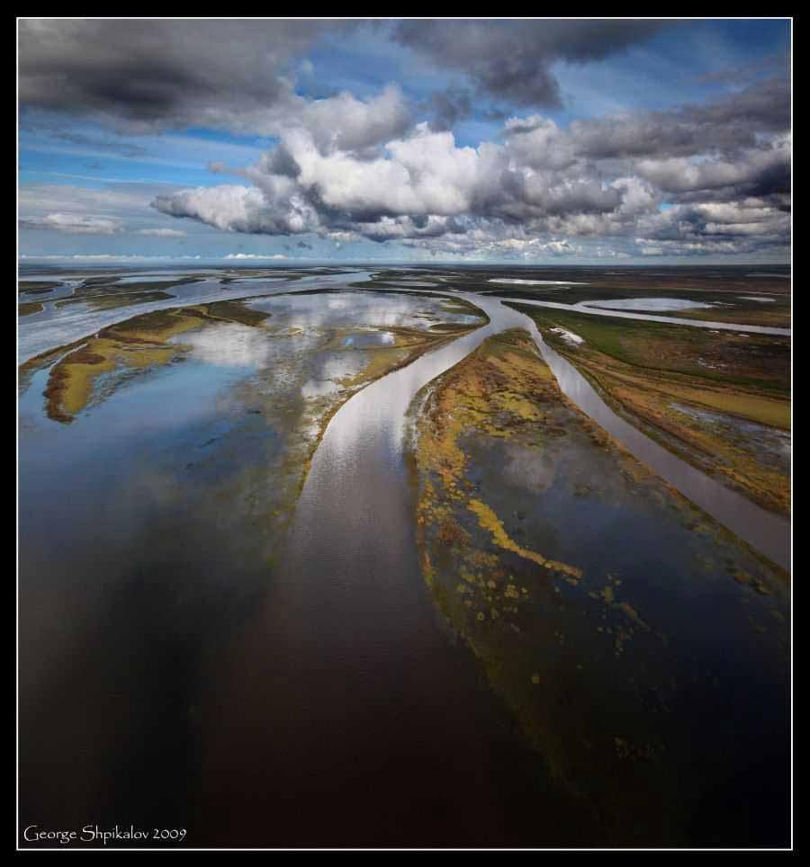 весна на реке Лена