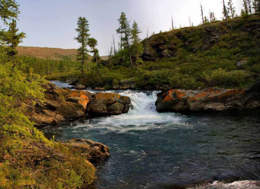 верховья реки Лена