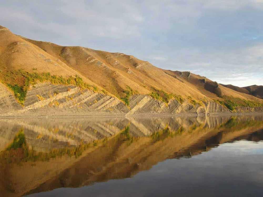 разрез палеозоя на берегу реки Лены, Арктическая часть реки