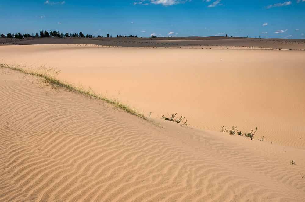 пустыни (тукуланы) на реке Лена