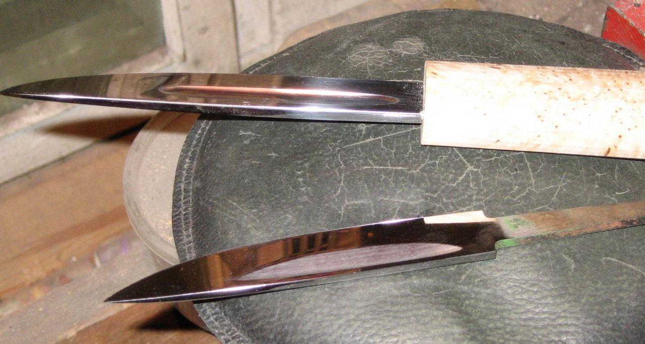Как сделать якутские ножи