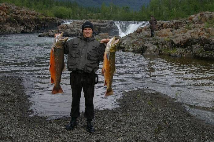 курейка красноярский край рыбалка