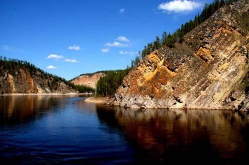 Якутск река лена фото