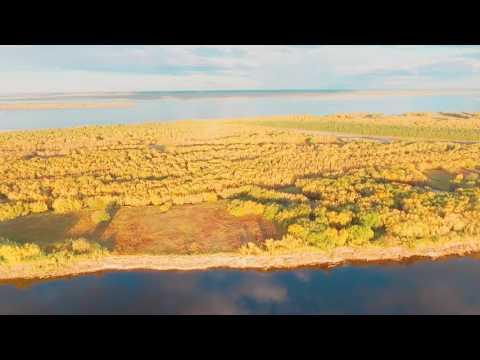 DJI phantom3 advanced ЯКУТИЯ река Лена сентябрь 2016